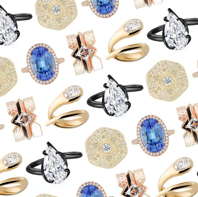 nontraditional wedding rings