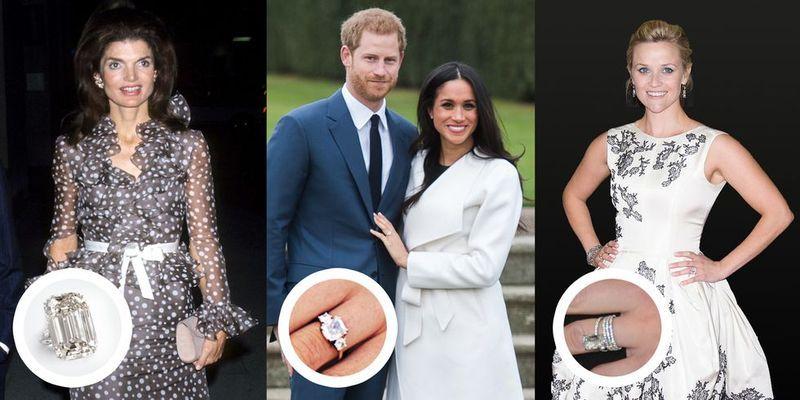 30 Best Celebrity Engagement Rings Biggest Most