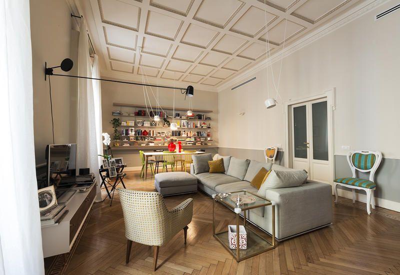 Mobili Per La Casa Milano : Rinnovare casa storica cambiando i mobili il progetto di
