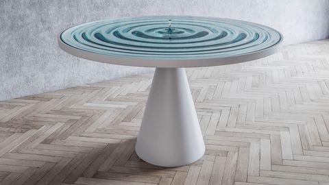 TheRippling Table de Stelios Mousarris