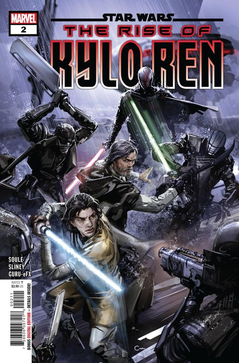 star wars rise of kylo ren comic cover ben solo
