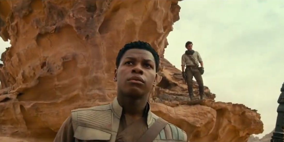 Star Wars Episode IX: Rise of Skywalker, Finn and Po
