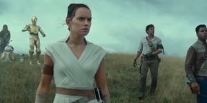 Star Wars Episode IX: Rise of Skywalker, Rey, Po, Finn and C3PO