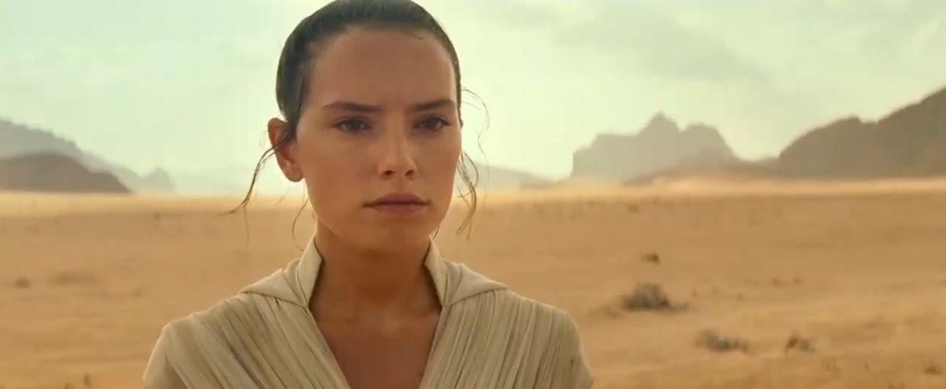 Rise of Skywalker's Daisy Ridley responds to Rey's dark turn in new footage