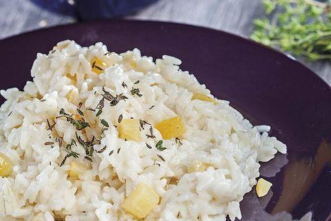risotto de limones confitados