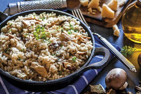 Risotto o arroz meloso