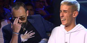 El Cejas obtiene el pase de oro en su actuación en Got Talent