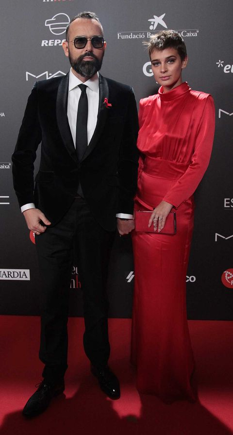 Parejas invitadas a la gran gala contra el sida de Barcelona