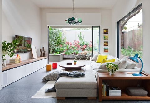 Interior design, Room, Floor, Flooring, Table, Furniture, Ceiling, Couch, Home, Wall,