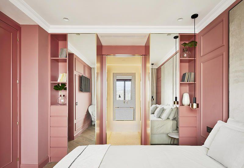 Foto Pareti Colorate : La ristrutturazione di un appartamento con pareti colorate e