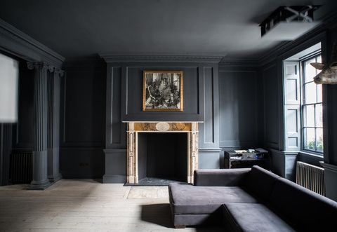 Minimalist Style Renovation Of An Ancient London House