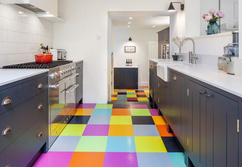 Il Colore Protagonista Della Ristrutturazione Di Una Casa A Londra