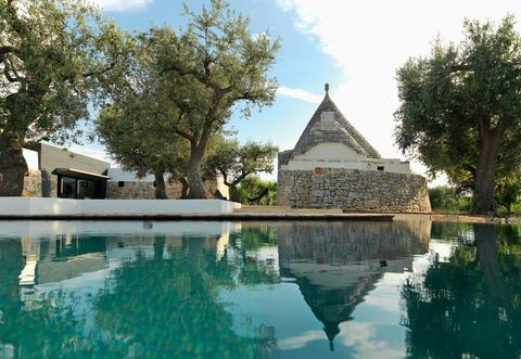 Il trullo trasformato in casa vacanze a Polignano