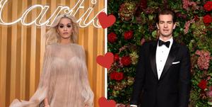 Rita Ora en Andrew Garfield 2018