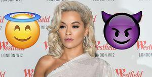 Rita Ora se apunta a la moda de las plumas durante su actuación en el concierto benéfico Children In Need Rocks'