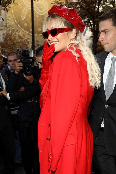 Celebrity Sightings : Paris Fashion Week - Womenswear Spring Summer 2020 : Day Seven