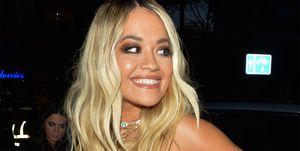 Rita Ora en los premios GQ Londres 2019