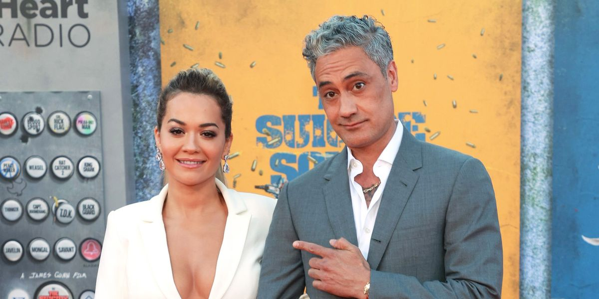 Thor's Taika Waititi confirms relationship with Rita Ora at The Suicide Squad premiere