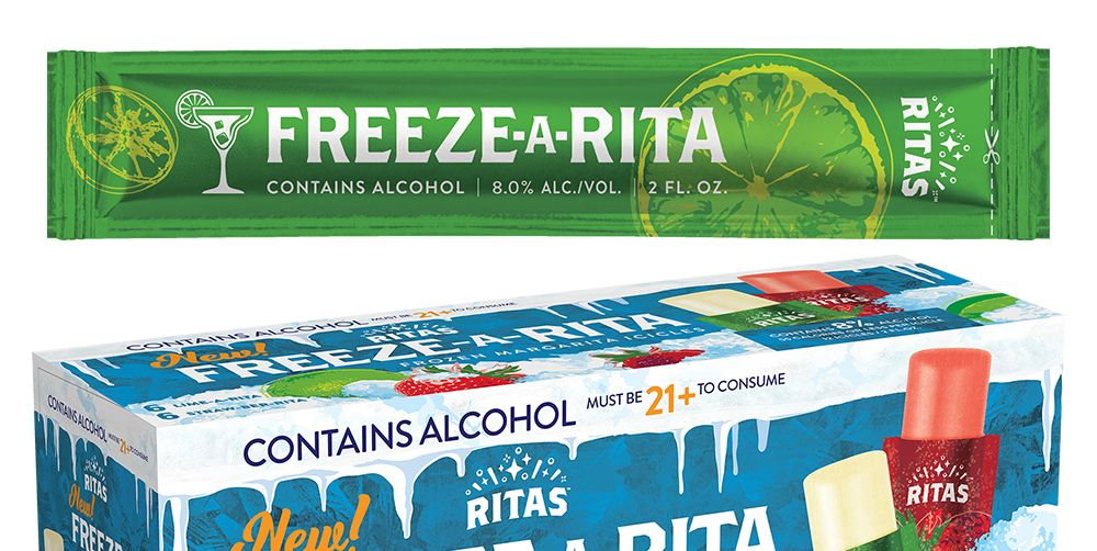 Ritas Is Releasing New Freeze-A-Rita Ice Pops And This Is How You Do A Frozen Margarita