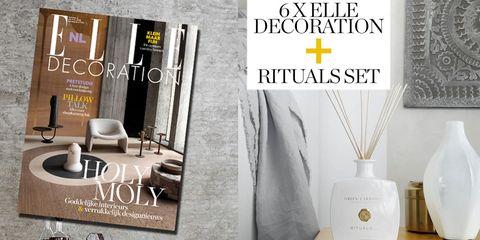 Nu In De Aanbieding 6 X Elle Decoration Rituals Set