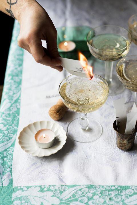 New Year meaningful ritual