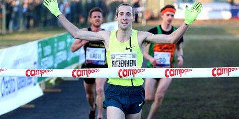 Dathan Ritzenhein winning Campaccio cross country