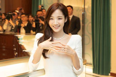 Tiffany & Co., 明星訪問, 朴敏英, 朴敏英來台, 朴敏英訪問, 珠寶, 首飾推薦