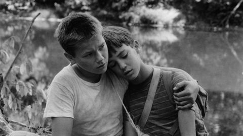 River Phoenix And Wil Wheaton In 'Stand By Me'