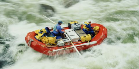 Rafting, Water transportation, Inflatable boat, Rapid, Raft, River, Boat, Vehicle, Water resources, Water,