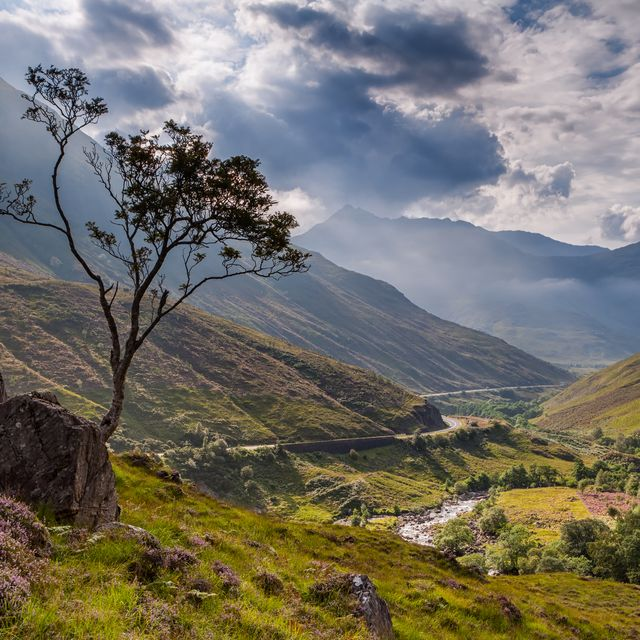 calming photos of scotland
