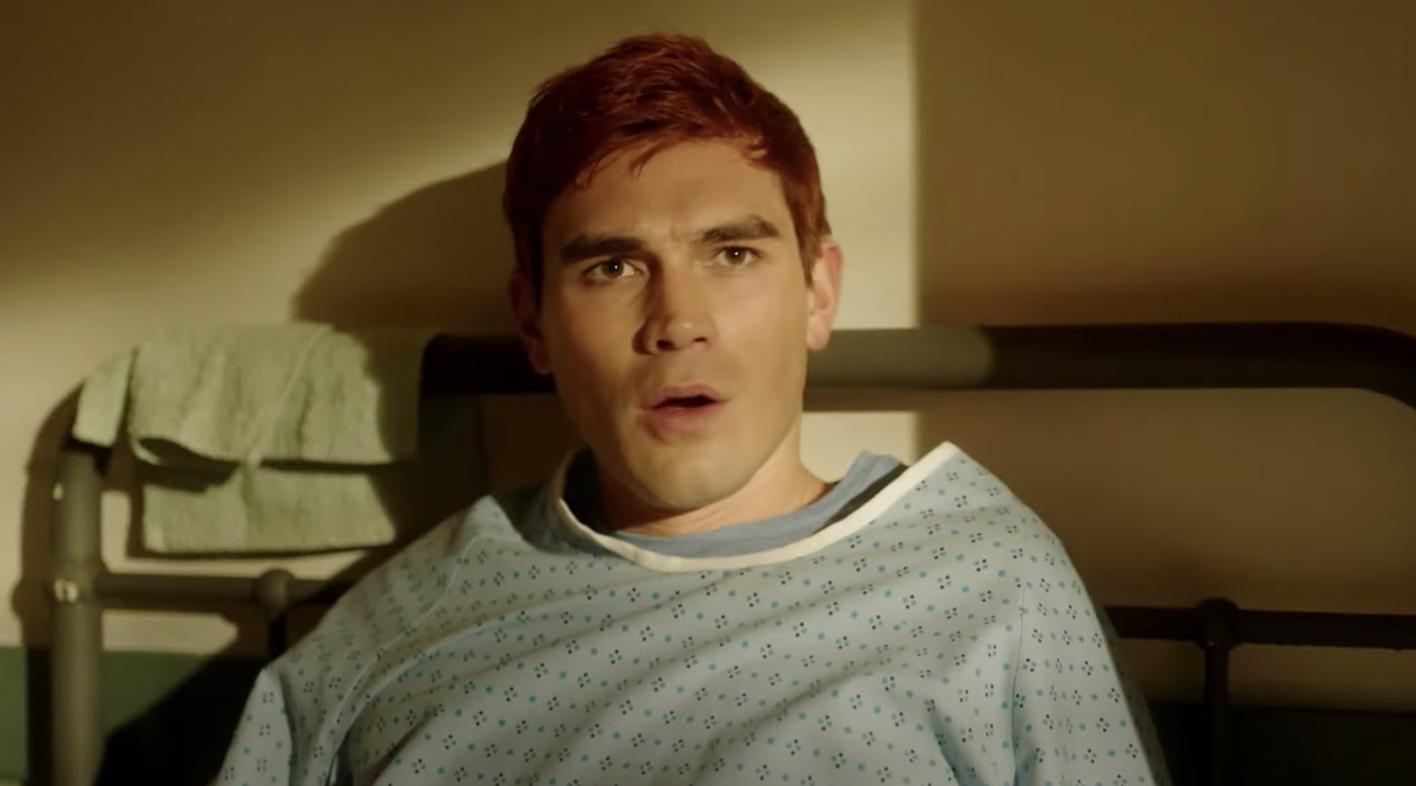 Riverdale unveils first look at Archie Andrews flashforward