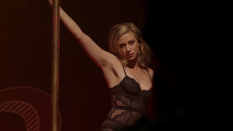 Betty Pole Dancing Riverdale
