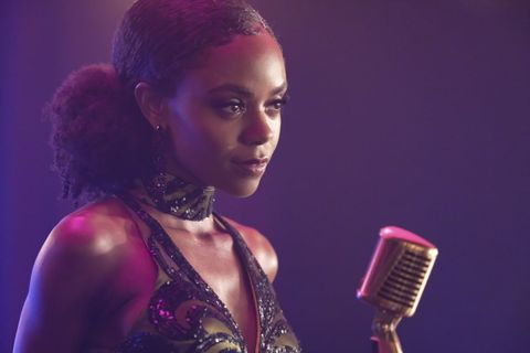 ashleigh murray as josie mccoy in the cw's riverdale