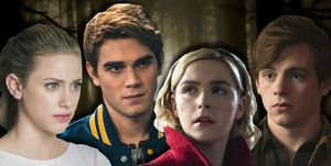 Riverdale/Chilling Adventures of Sabrina - Betty, Archie, Sabrina, Harvey