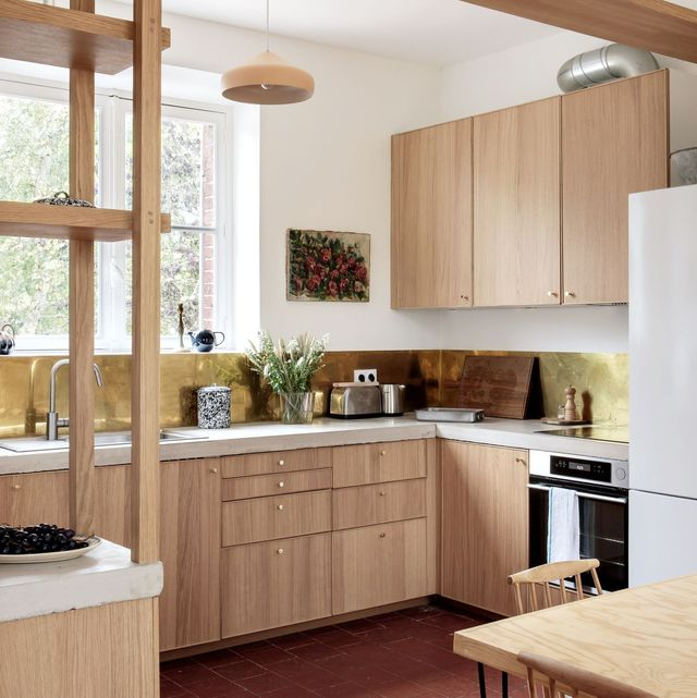 Blonde Kitchen Cabinets IKEA Kitchen Ideas   The Most Beautiful Kitchens Made from IKEA