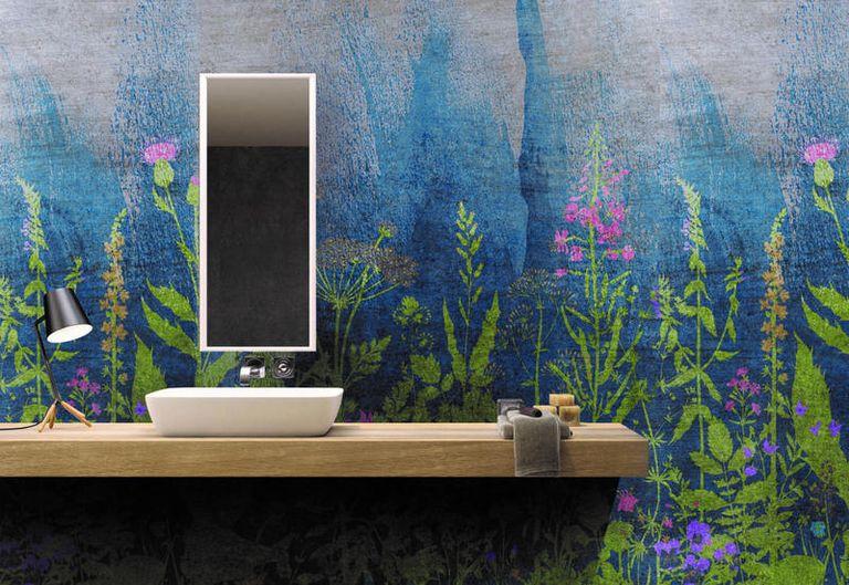 Rivestimenti per pareti in ceramica che sembrano opere d 39 arte - Rivestimenti x pareti interne ...