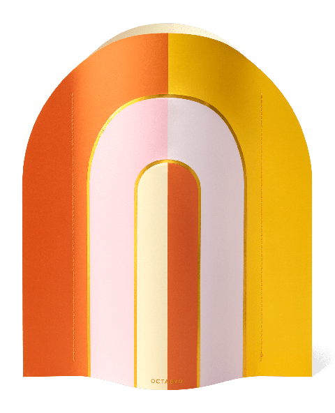 paper vase riviera by octaevo