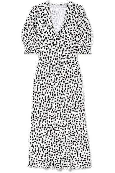 Rixo polka dot Zara dress