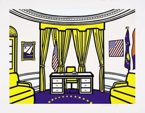 Roy Lichtenstein, The Oval Office