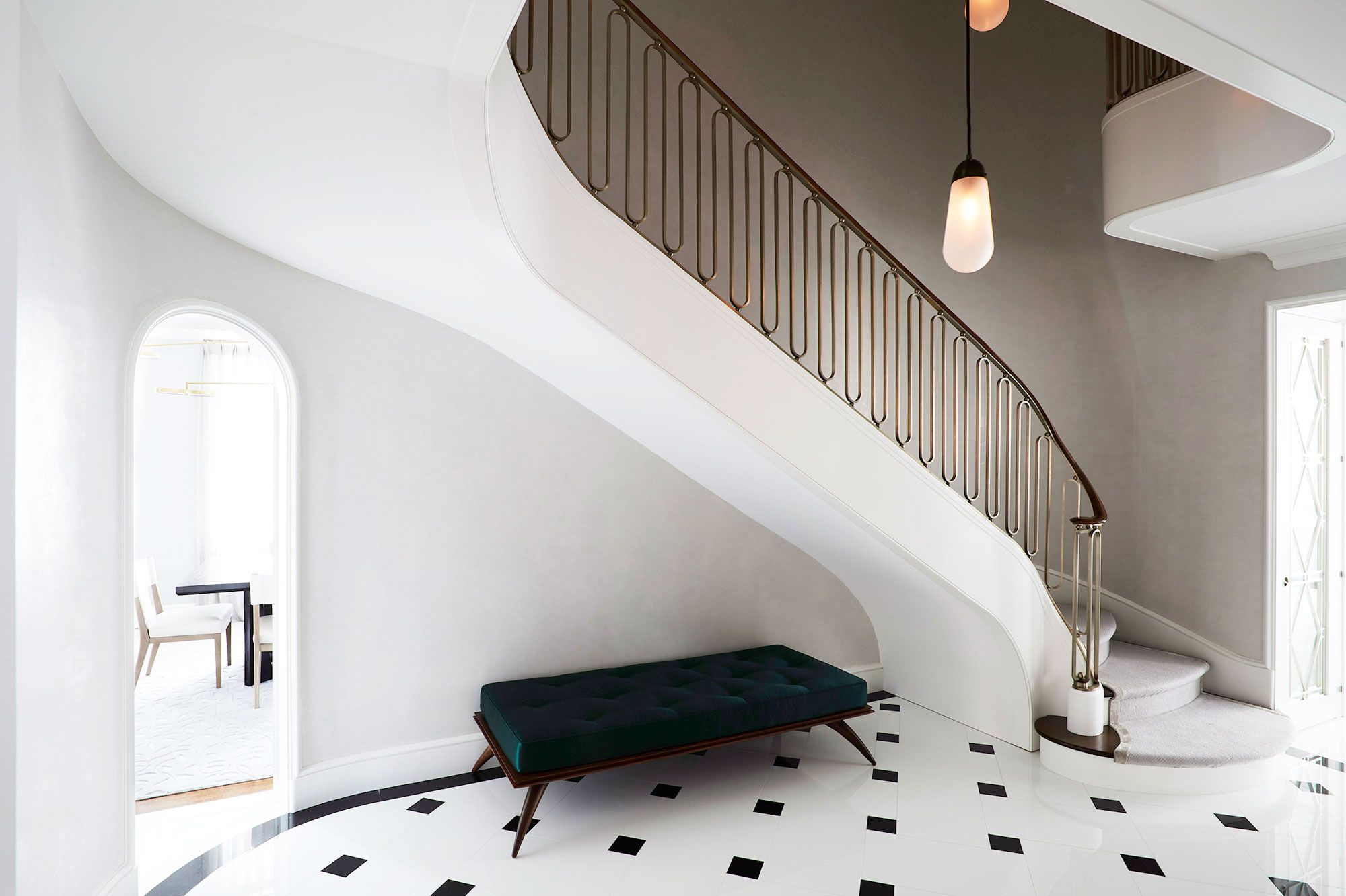 Wall Design Under Staircase