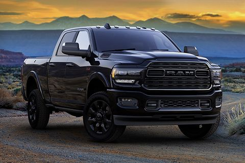 new 2020 ram heavy duty limited black announced