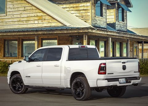 Ram 1500 Night Edition Leads Changes to Ram 1500, HD Lineup