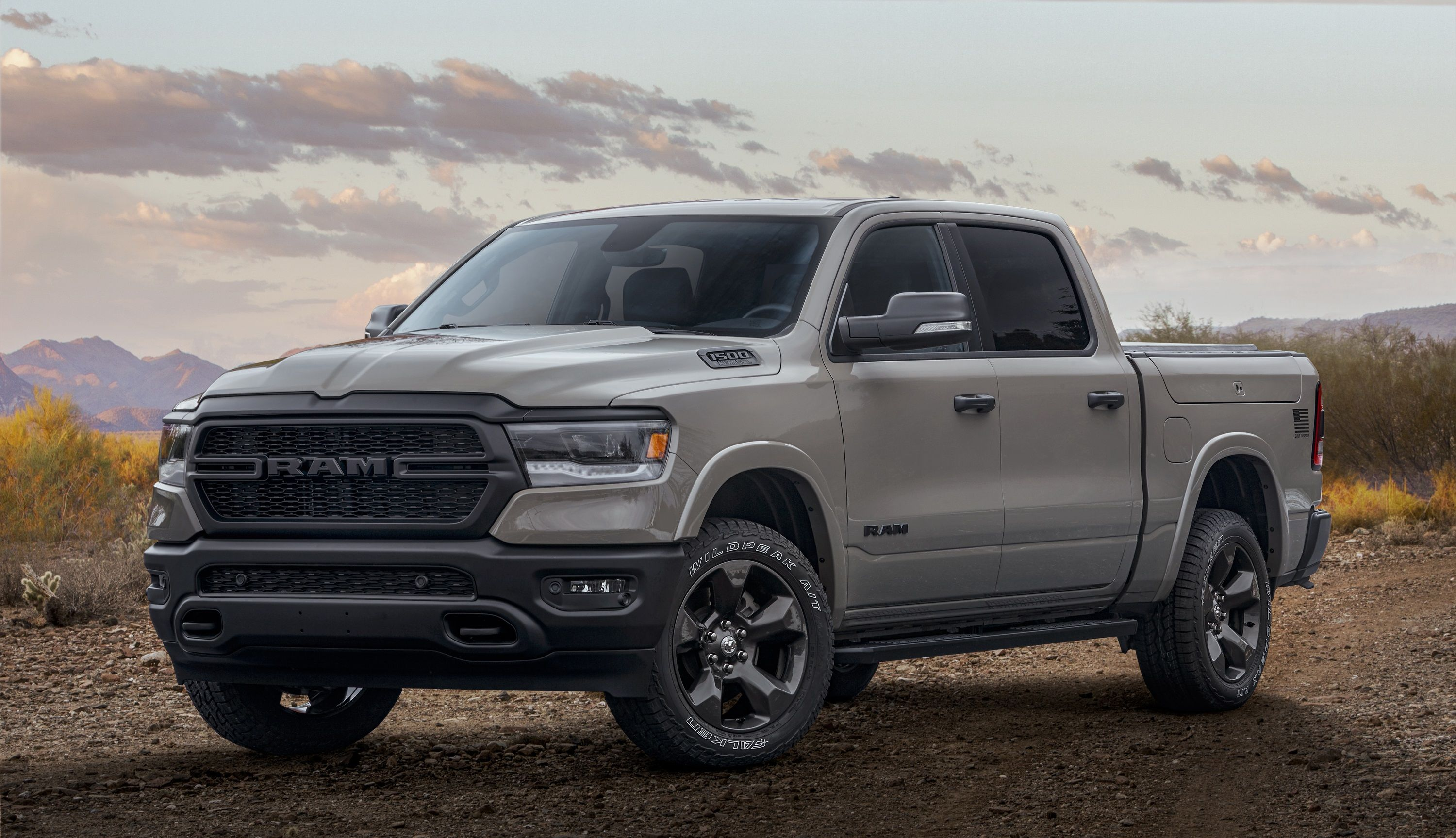 Ram Built To Serve Edition Honors The Five Branches Of The U S Military