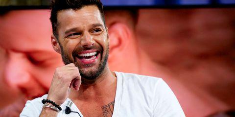 Ricky Martin's Short Shorts Are Giving Us Major Quad Envy