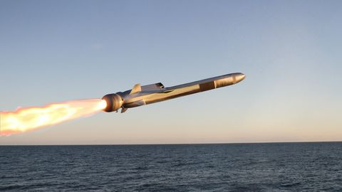 Missile, Vehicle, Sky, Calm, Aircraft,