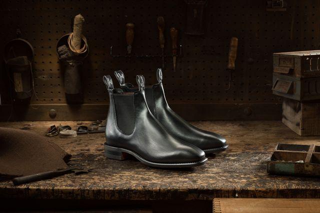 rm williams black craftsman boot