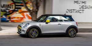 Mini Cooper SE electric car