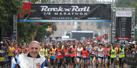 Pope Francis Philly Half