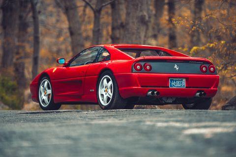 Land vehicle, Vehicle, Car, Ferrari f355, Automotive design, Sports car, Supercar, Performance car, Race car, Coupé,