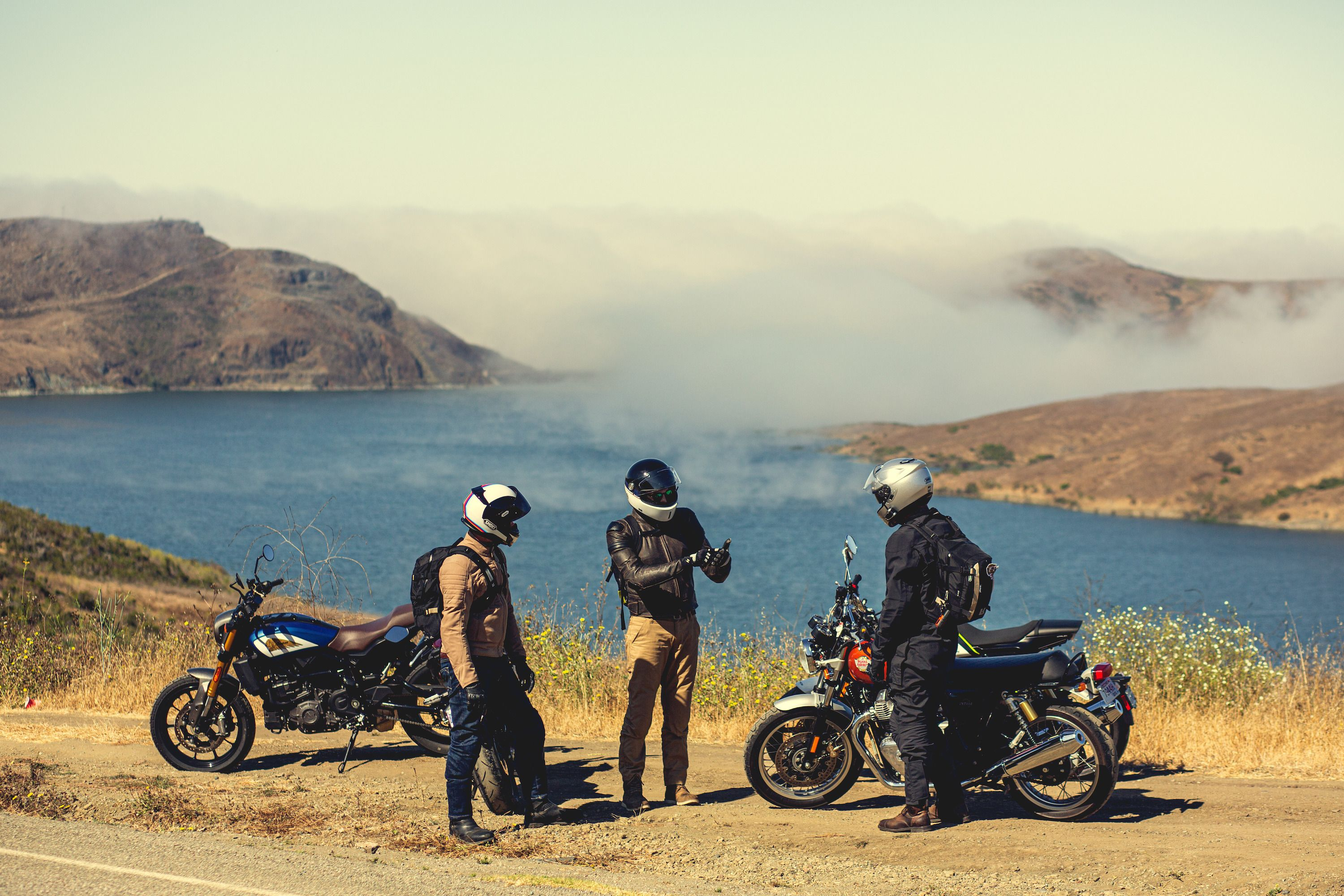 I Went on My First Big Motorcycle Ride and Immediately Crashed